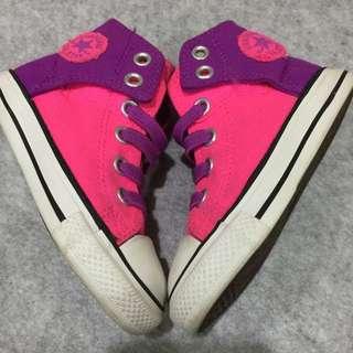 Pink Converse Sneakers (Toddler)(Girls)