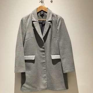 Topshop Coat - Size UK 12