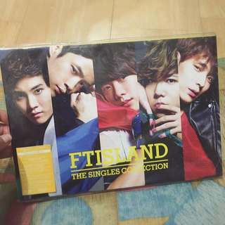 [ Price Reduced ] FTISLAND THE SINGLES COLLECTION