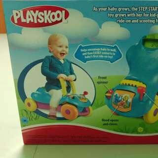 New Playskool Step Start Walk & Ride