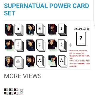 EXORDIUM Supernatural Power Card Set