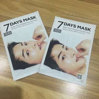 Song Joong Ki 7 Days Mask