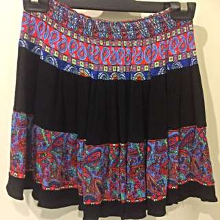 Bohemian High Waisted Skirt