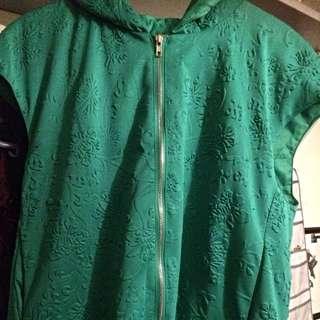 Green Printed Vest