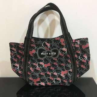 9acd9448c Hello kitty Authentic Sanrio Amonnlisa Black Canvas Handbag