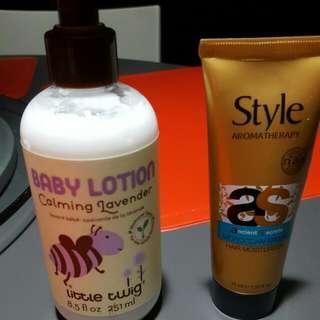 Baby Lotion & Hair Moisturizer
