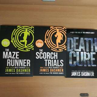 The Maze Runner  The Scorch Trials The Death Cure