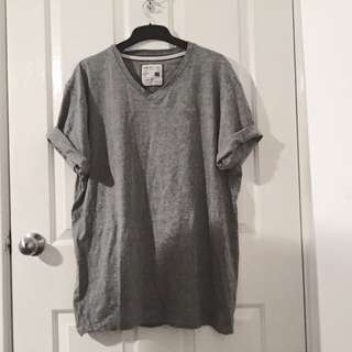 Rivers Grey V Neck Shirt
