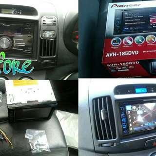 Van Or 10ft Lorry Audio Installation
