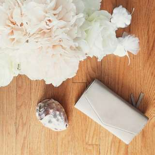 Forever 21 Taupe Clutch/Wallet