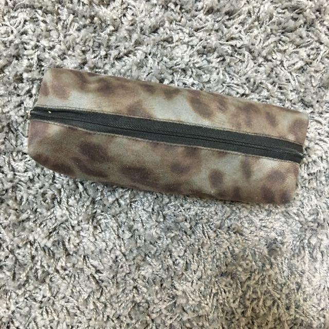仿豹紋大容量鉛筆盒(自行出價)