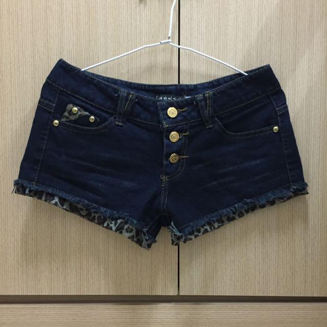 韓版牛仔短褲