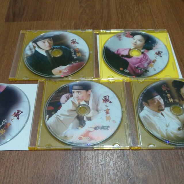 韓劇 風之畫師 文根英 文彩元 Dvd整套 正版殼已丟 只看過一次