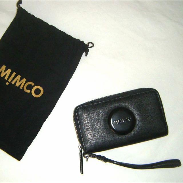 AUTHENTIC Mimco Zip Tech Purse