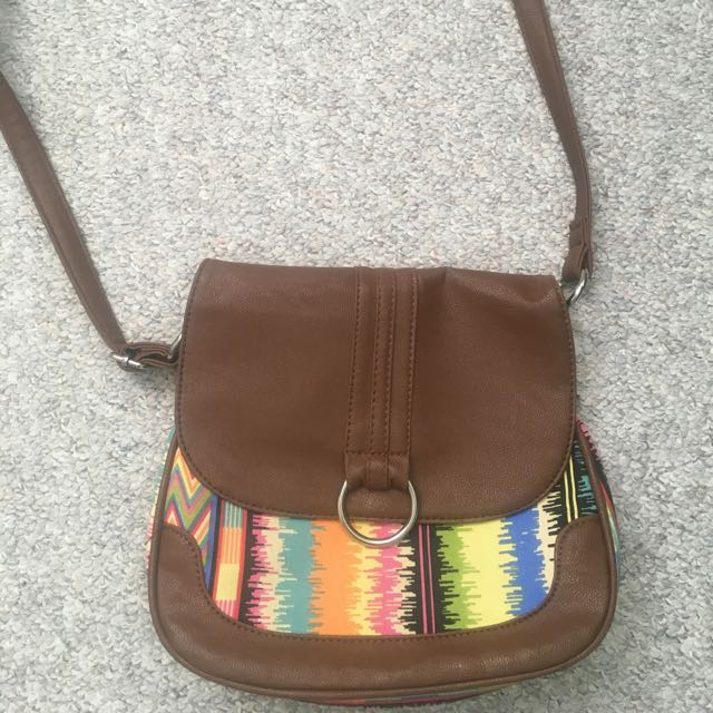 Aztec Patterned Purse