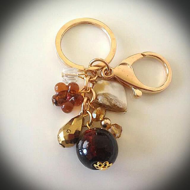 Bag Charm (Brown)