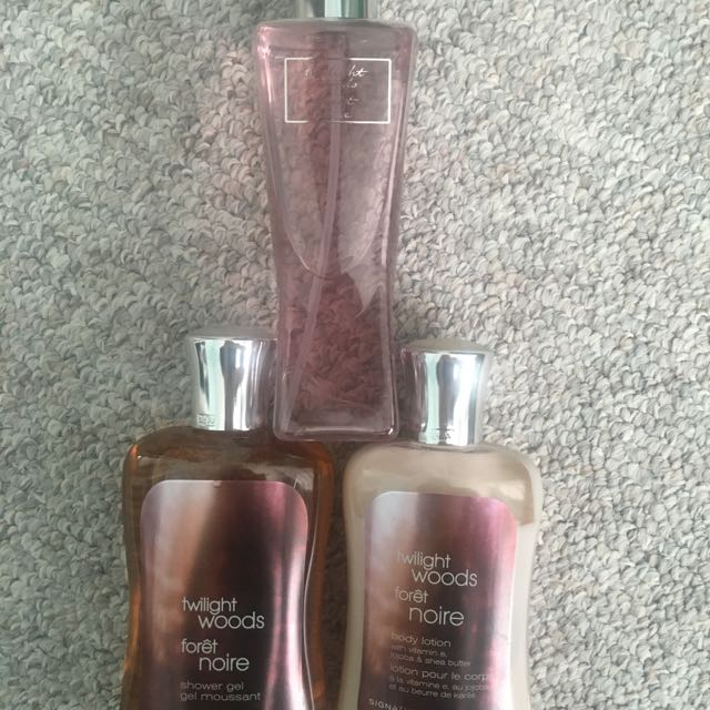 Bath And Body Works Twilight Woods Collection