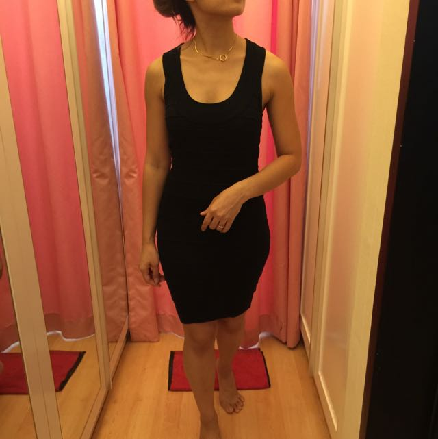 Black Dress Forever 21 Ori
