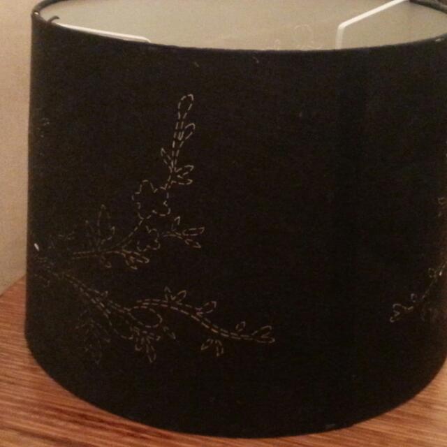 Black Large Lamp Shade