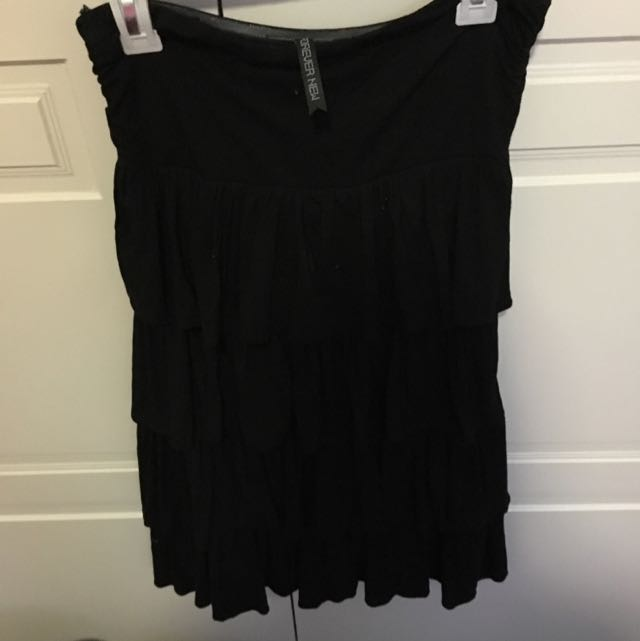 Black Layered Forever New Dress