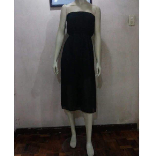 Black Tube Dress (New)