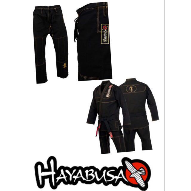 BNIP Hayabusa Pro Jiu Jitsu BJJ GI ( Black )
