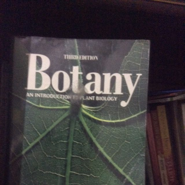 Botany By Mauseth 3rd Edition