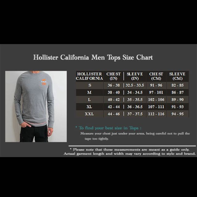Brand New Authentic Hollister Pocket Tee, Men's Fashion on