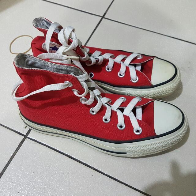 Converse Hi-cut RED