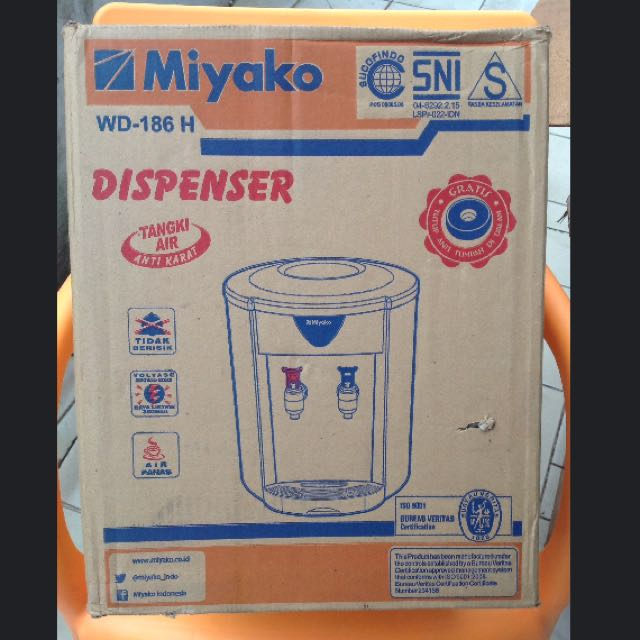 Dispenser Air Miyako WD-186 H