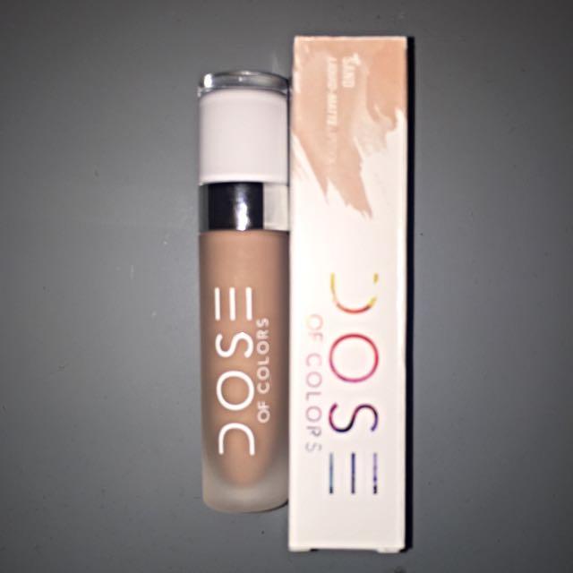 Dose of Colors Liquid Lipstick - Sand