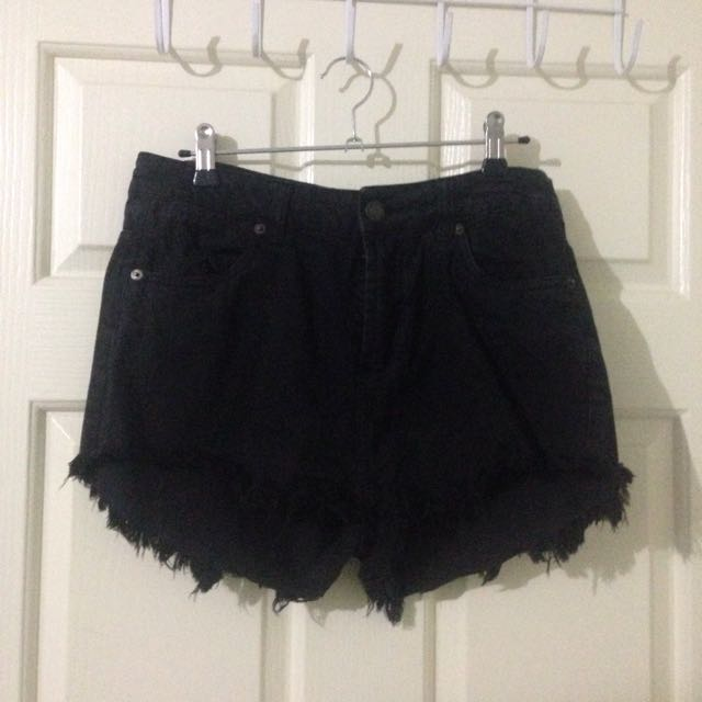Factorie Black Shorts