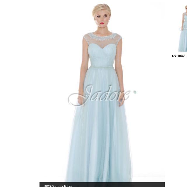 Formal Dress Ice Blue