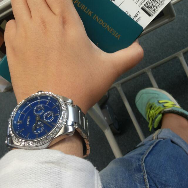 Reprice!!FOSSIL WATCH FOR HER (authentic)