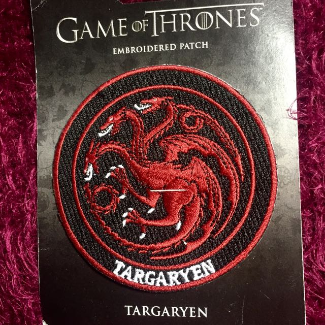 Game Of Thrones Targaryen Patch