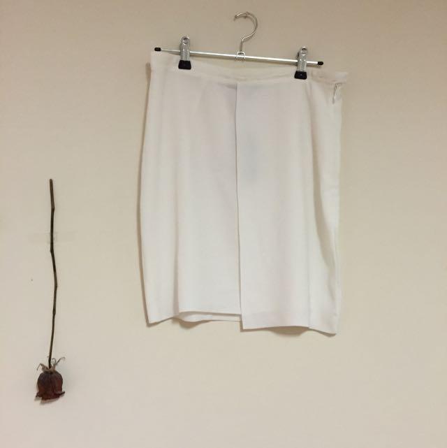 Glassons White Skirt Size 10