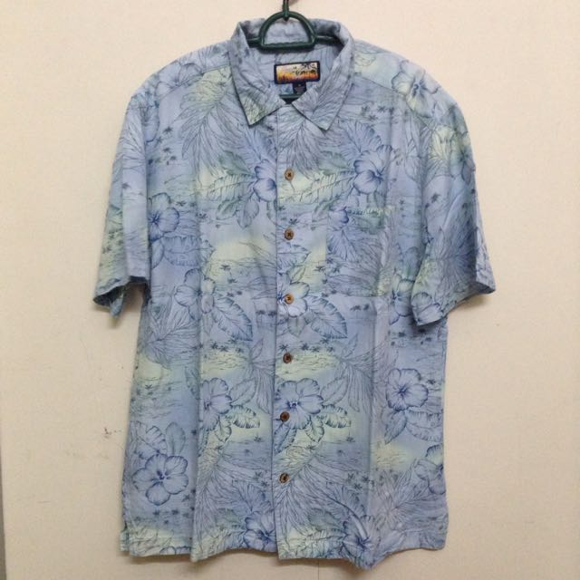 248d7d5c Hawaiian Havana Jack's Cafe Floral Beach Shirt, Men's Fashion on ...