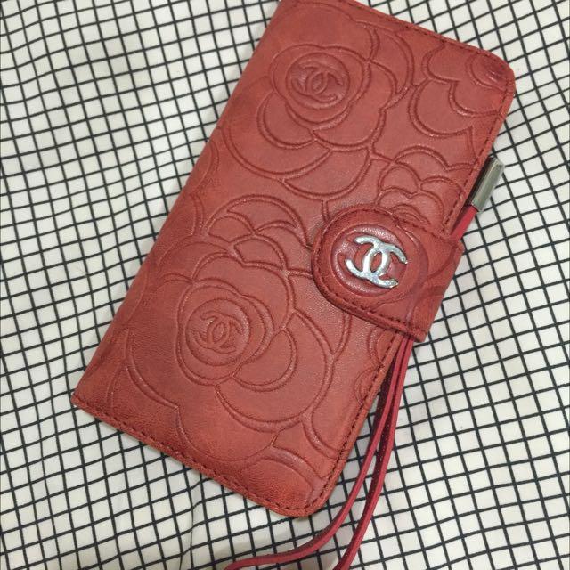 (全新)iPhone 6 /6s Chanel香奈兒掀蓋式手機殼