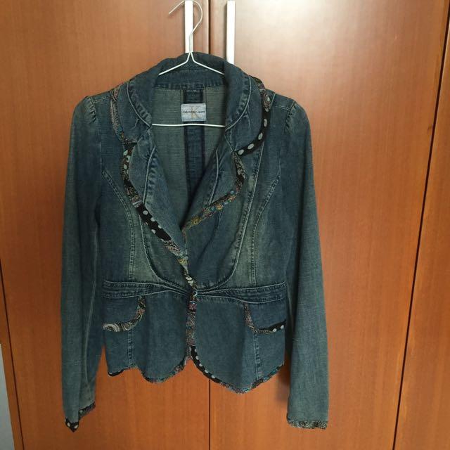 Jaket blazer Jeans calvin Klein 2442a9b828