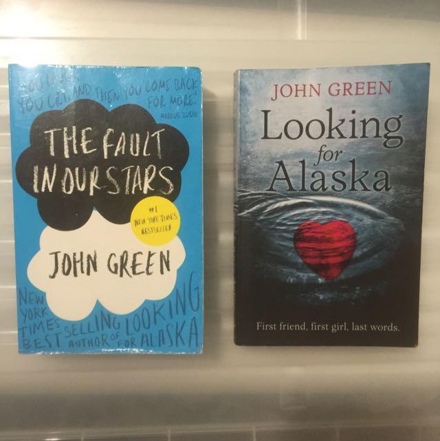 John Green Books $5 Each