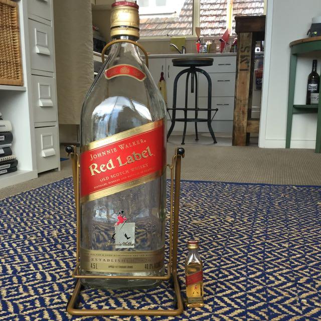Johnnie Walker Vintage 4.5 L Bottle ( Empty )