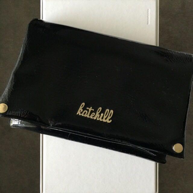 Kate Hill clutch/shoulder bag