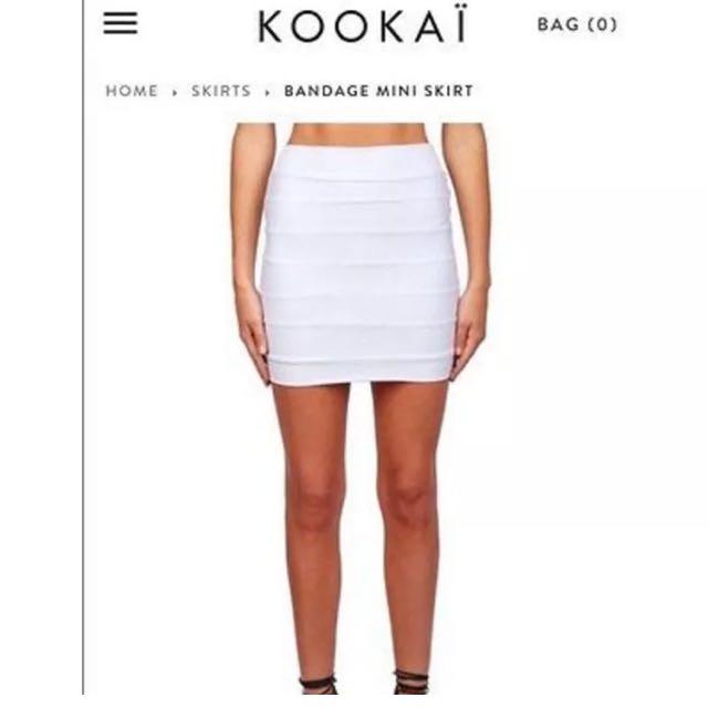 Kookai Bandage Skirt size 2
