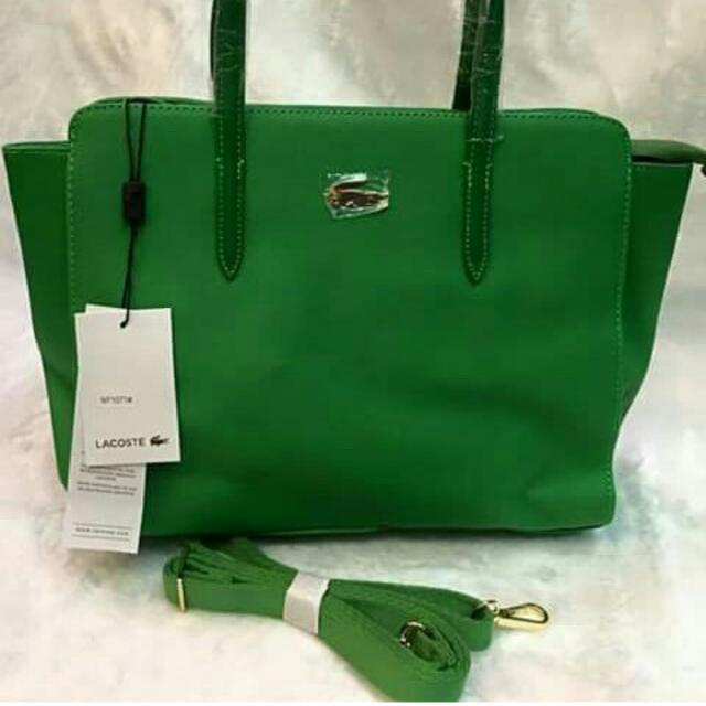 LACOSTE 2Way Shoulder/Sling Bag HQ Replica B'New w/Tag,Dustbag,Paperbag Med.-Large size