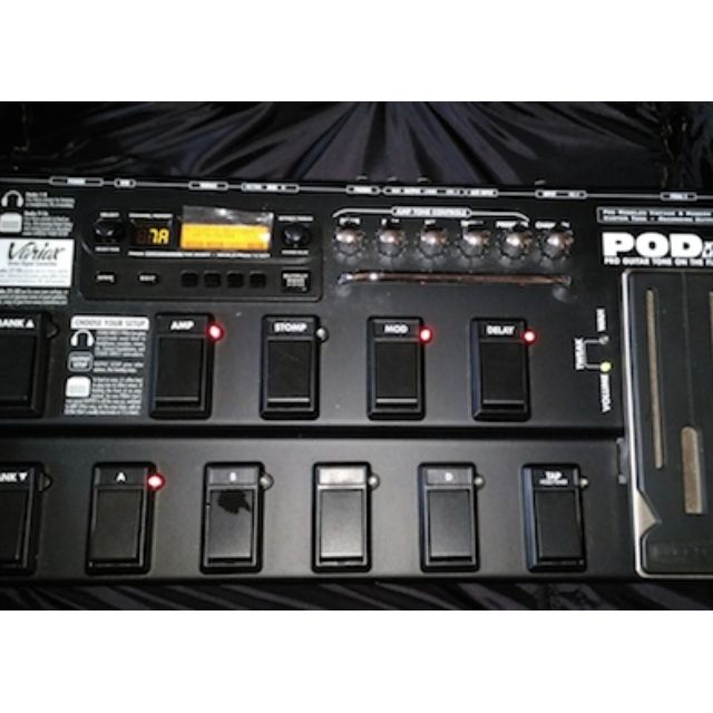Line6 POD XT Live (Installed with Metal Expansion Pack)