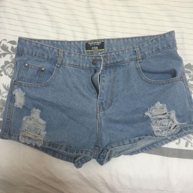 Mid Waisted Shorts