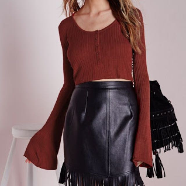 Missguided Knitted Crop