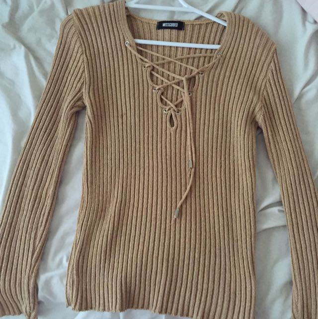Missguided Sweater Top