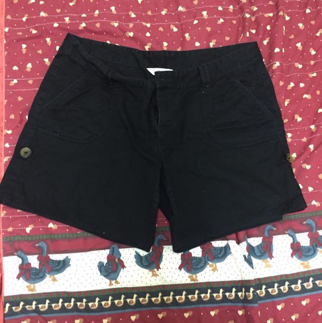 NET短褲 黑