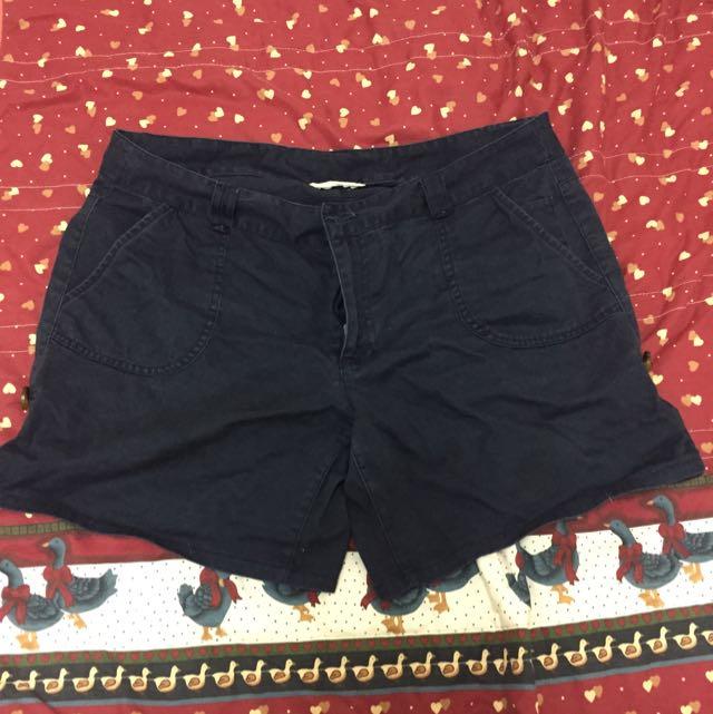 NET短褲 藍